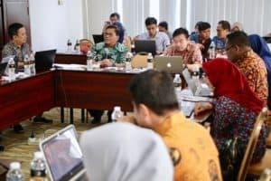 Perkuat Sinergitas Antar-bagian Karena Perubahan Sotk, Biro Perencanaan Dan Informasi Langsung Menggelar Rapat Kerja
