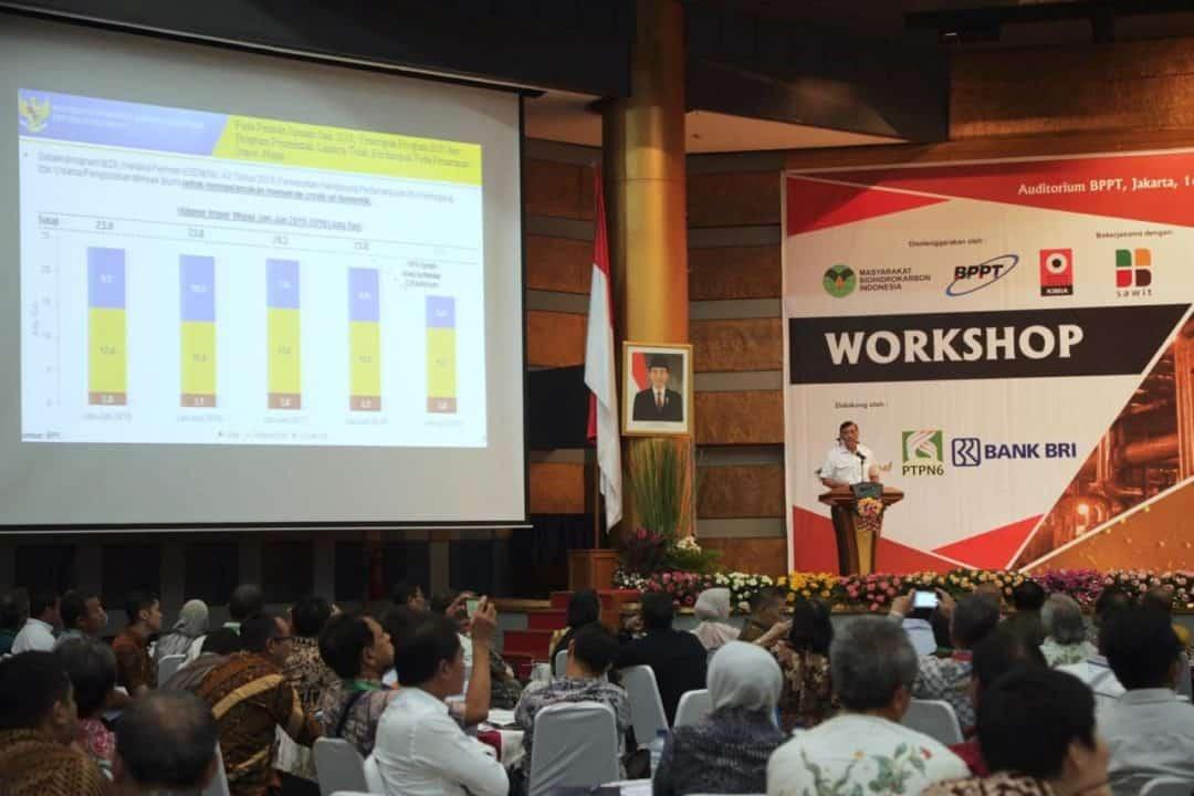 Menko Luhut Menjadi Keynote Speech Dalam Workshop Pemanfaatan Minyak Sawit Untuk Green Fuel