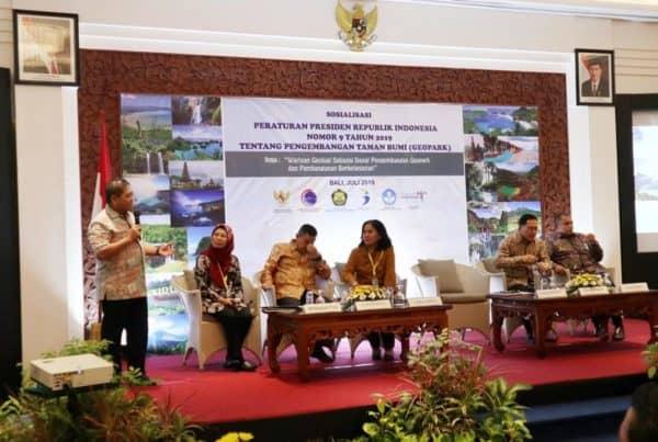 Keberadaan Geopark Wajib Mengangkat Potensi Wilayah Dan Menyejahterakan Masyarakat