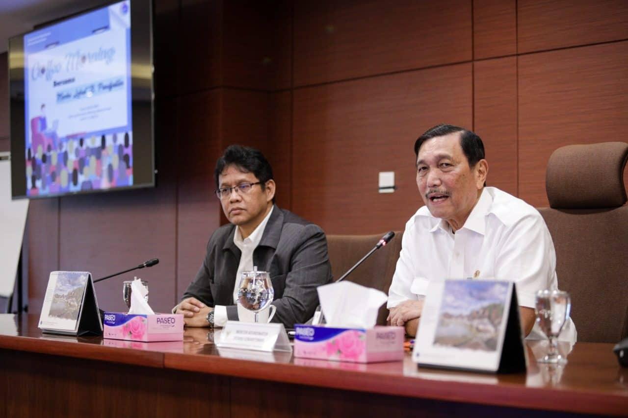 Menko Luhut : Pertemuan G20 Berdampak Positif Bagi Indonesia