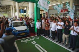Menko Kemaritiman Luhut B. Pandjaitan Menghadiri Serta Meresmikan Layanan Grab Di Bandara Area Sumatera
