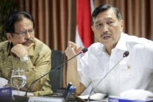 Menko Kemaritiman Luhut B. Pandjaitan Pimpin Rakor Lanjutan Dalam Rangka Upaya Percepatan Pemulihan Kawasan Pesisir Dan Laut Di Pulau-pulau Perbatasan Dengan Malaysia