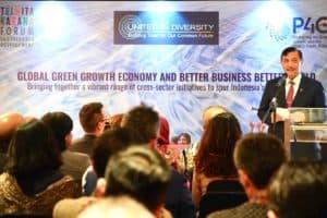 Menko Bidang Kemaritiman Luhut B. Pandjaitan Menghadiri Undangan Forum Dialog Tri Hita Karana Bertajuk Global Green Growth Economy For Better Business Better World Dari Uid