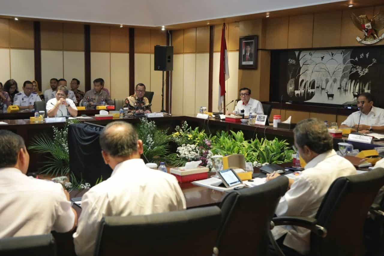 Deputi Bidang Koordinasi Sdm, Iptek Dan Budaya Maritim, Safri Burhanuddin Mewakili Menko Kemaritiman Pada Rakor Persiapan Penyelenggaraan Sail Nias 2019
