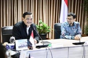 Menko Luhut Melaksanakan Rapat Dengan Delegasi Investasi Uni Emirat Arab Bersama Menteri Energi Uae Suhail Al Mazroui