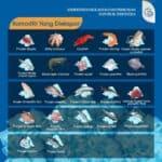 Pemerintah Ekspor 8,9 Ribu Ton Hasil Perikanan Serentak Di Lima Pelabuhan