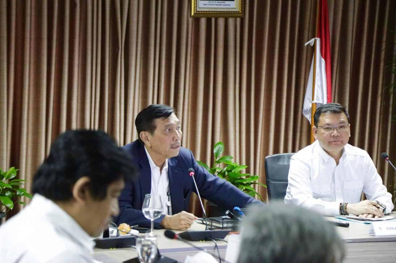 Menko Bidang Kemaritiman Luhut B. Pandjaitan memimpin Rapat Koordinasi Pengelolaan Lahan Gambut yang Berkelanjutan