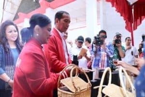 Kunjungan Kerja Presiden Republik Indonesia Di Taman Wisata Salib Kasih