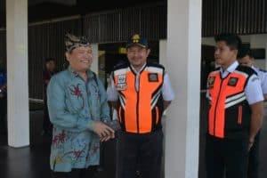 Deputi Bidang Koordinasi Sumber Daya Alam dan Jada Kunjungan ke Bandara International Banyuwangi