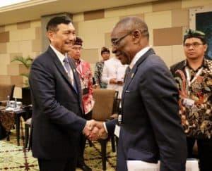 Menteri Koordinator Bidang Kemaritiman Bilateral Meeting dengan Negara Equatorial Guinea