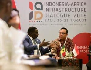 Menko Bidang Kemaritiman Luhut B. Pandjaitan Bilateral Meeting dengan Minister Delegate in Charge of Senegal Emergent