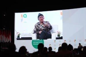 Menko Bidang Kemaritiman Luhut B. Pandjaitan Menjadi Speaker dalam Dalam Panel Discussion Tentang Energi And Mining