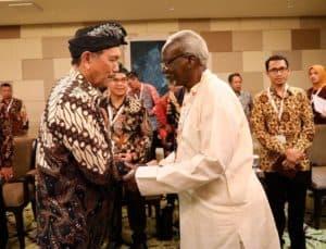 Menko Bidang Kemaritiman Luhut B. Pandjaitan Bilateral Meeting dengan Uganda Second DPM and Minister For East African Community