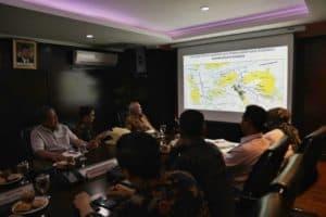 Menko Kemaritiman Luhut B. Pandjaitan pimpin Rakor Pengembangan Wilayah Industri Mengenai Pulau Rempang, Kepulauan Riau