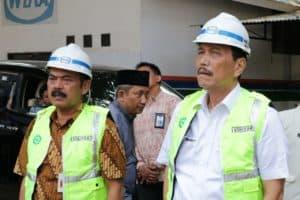 Menko Luhut Tinjau Pembangunan Islamic Center Sriwedari dan Pembangkit Listrik Tenaga Sampah di Solo