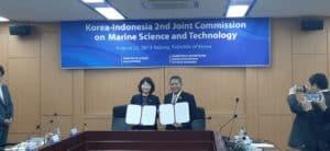 Pengembangan Riset dan Teknologi Kelautan melalui Kerja Sama Bilateral RI-Republik Korea