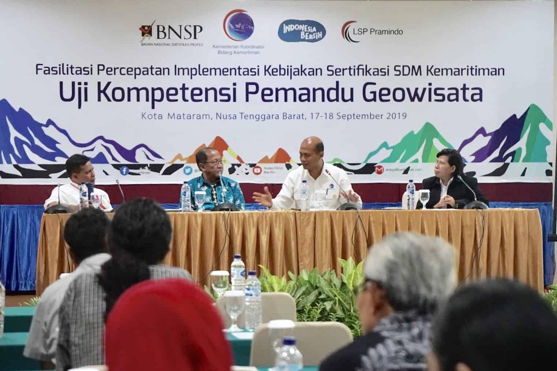 Kemenko Maritim Fasilitasi Uji Kompetensi Pemandu Geowisata Pertama di Indonesia