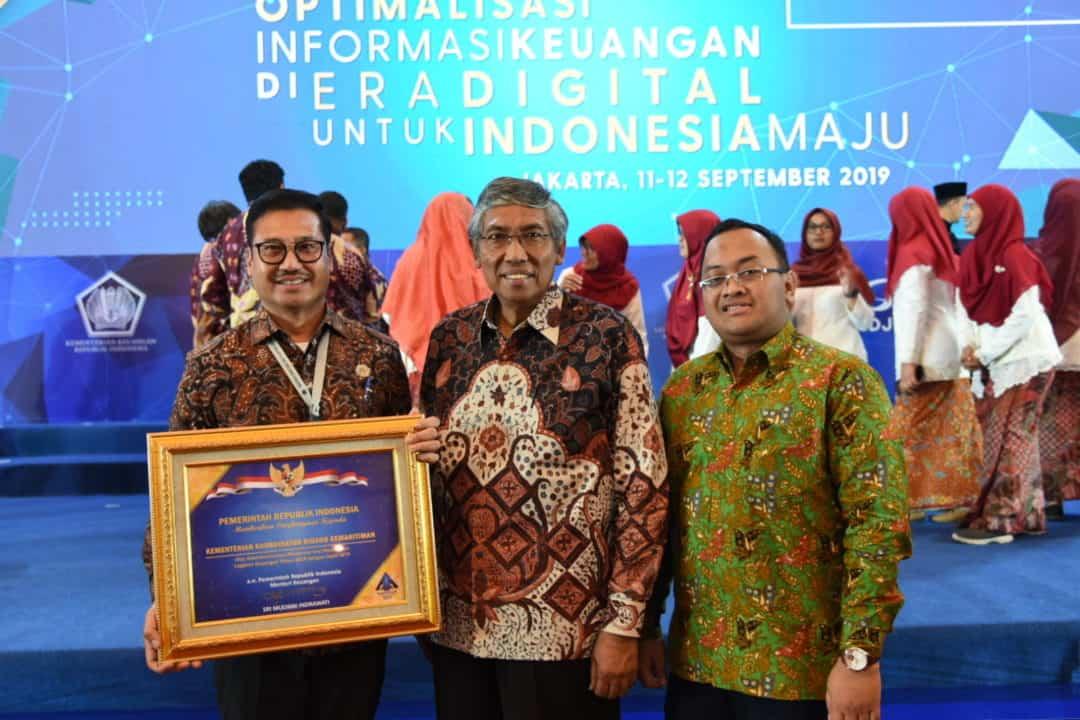 Kemenko Bidang Kemaritiman Raih Penghargaan Opini WTP dari Kementerian Keuangan