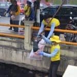 Gerakan Aksi Kali Bersih Libatkan 7000 Relawan di Banjarmasin