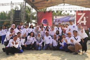 Family Gathering Kementerian Koordinator Bidang Kemaritiman di Ancol Beach City