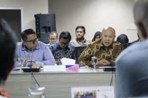 Menko Bidang Kemaritiman Luhut B. Pandjaitan Rapat Pendirian Blended Finance Institute