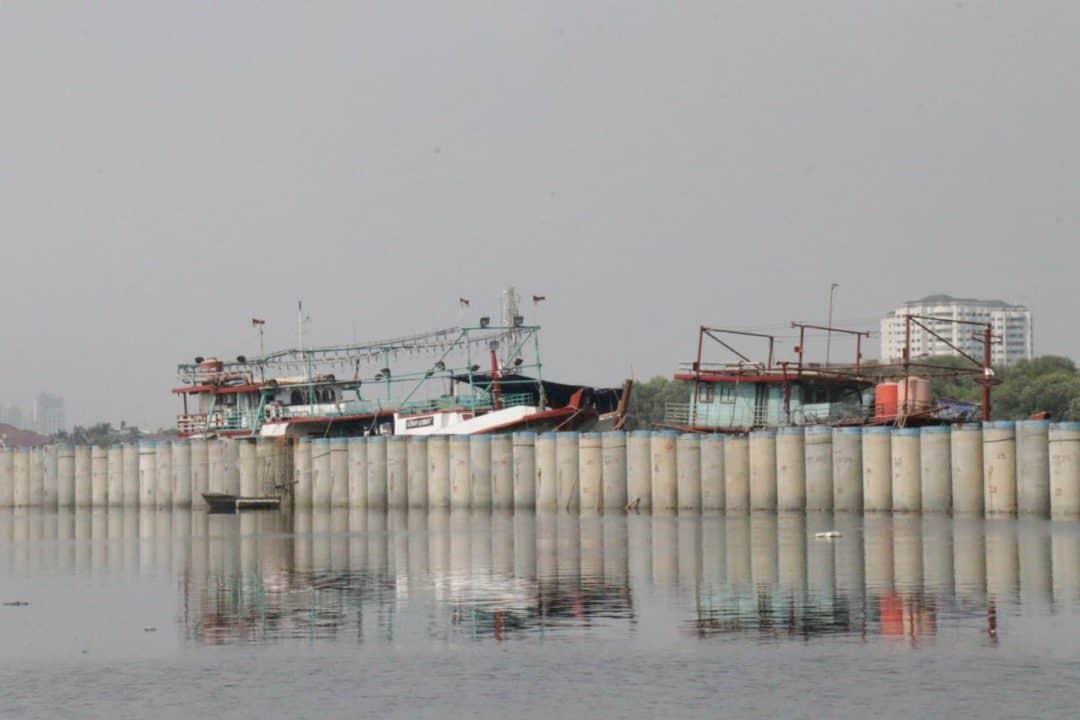 Kunjungan Lapangan Ke Lokasi Terdampak Amblesan Tanah di Daerah Pesisir Jakarta
