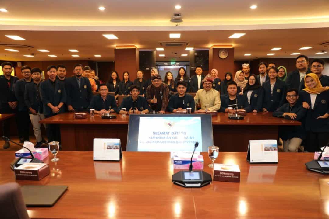 Perdalam Ilmu Hukum Maritim, Civitas Fakultas Hukum Universitas Brawijaya Sambangi Kemenko Maritim dan Investasi