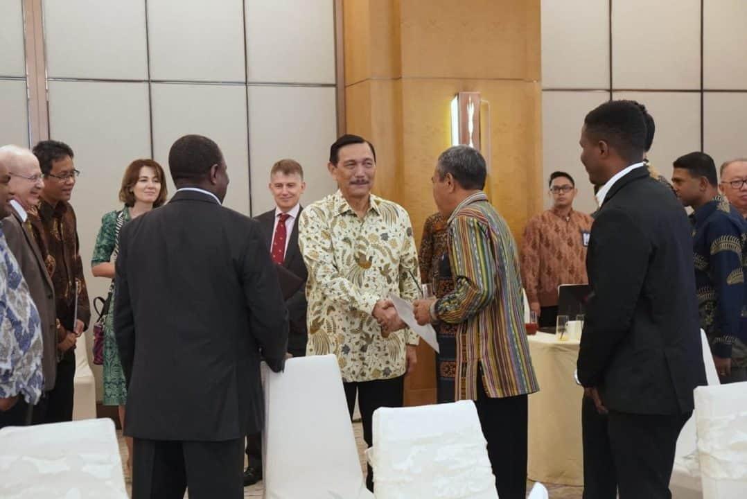 Menko Luhut B. Pandjaitan Menghadiri Breakfast Meeting Persiapan Kegiatan AIS Forum Manado