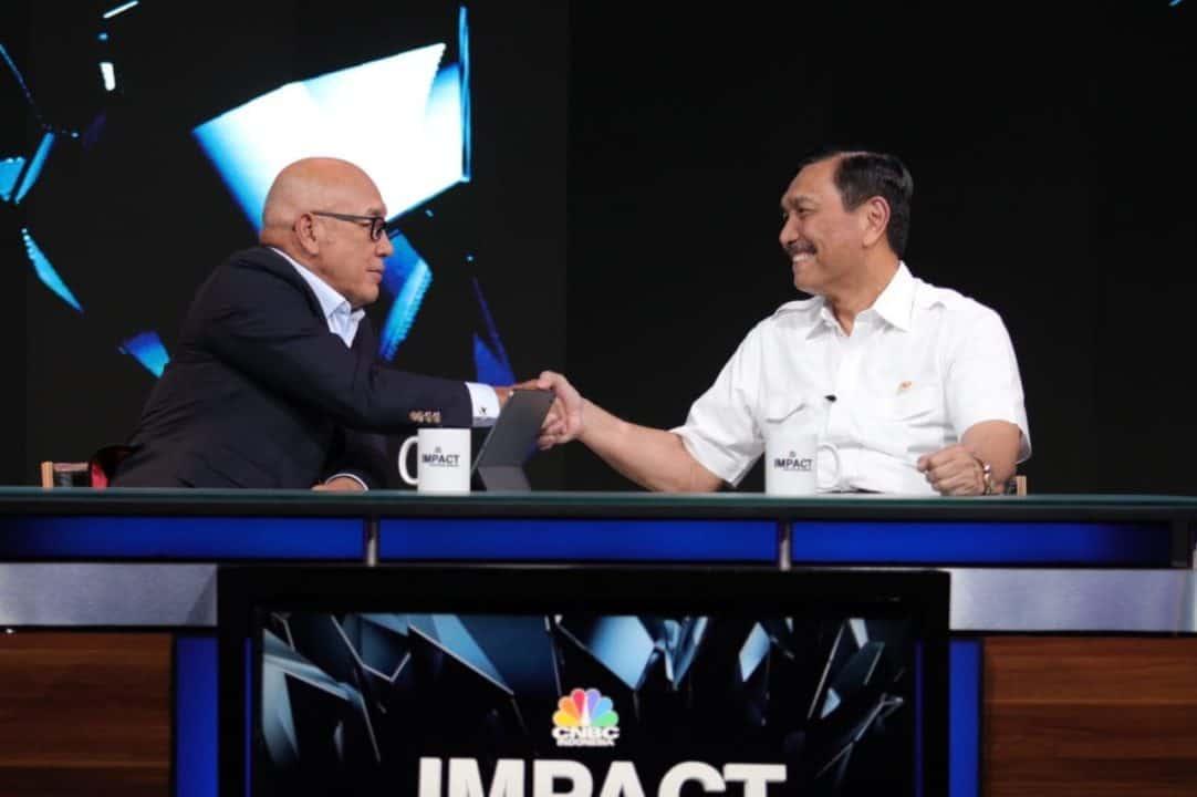 Live Menko Luhut B. Pandjaitan di Impact CNBC Indonesia