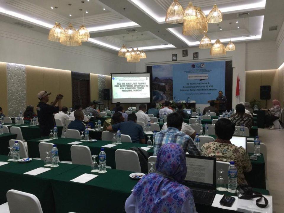 Rencana Zonasi Kawasan Antar-Wilayah Laut Flores Terus Didorong Untuk Diselesaikan