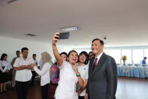 Penghargaan PNS Satyalancanam, Kenaikan PNS, serta Launching E- Skp
