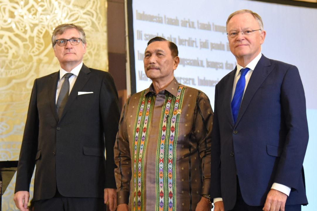 Menko Luhut : Ekonomi Kunci Hubungan Indonesia dan Jerman Sejak Lama
