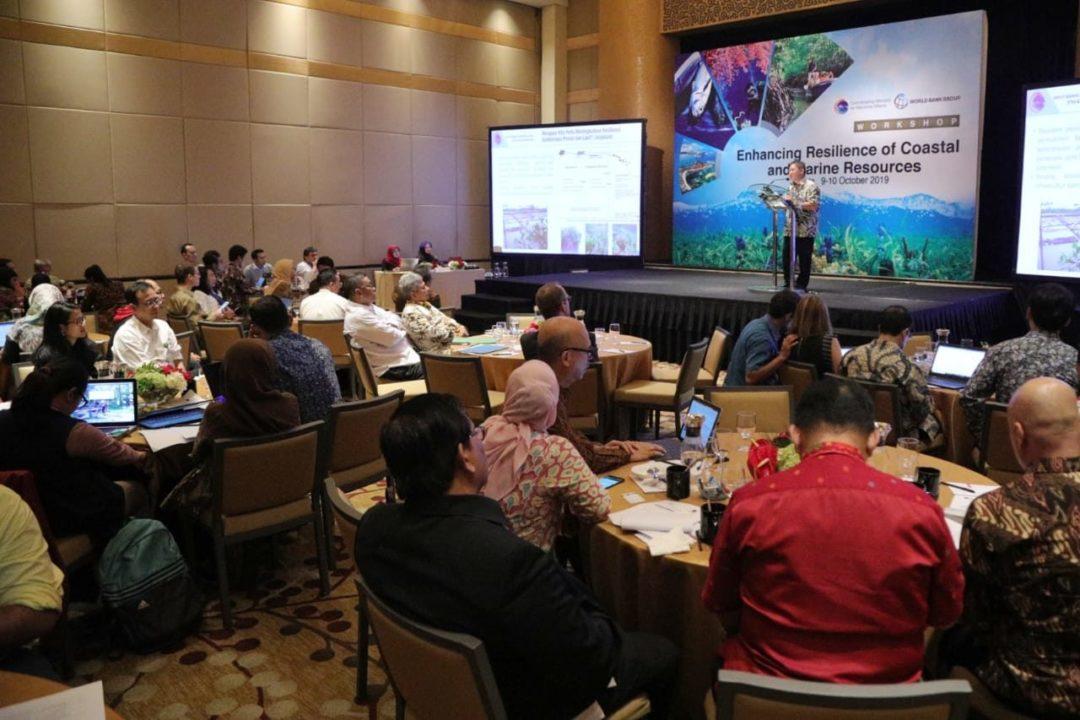 Rumuskan Rencana Aksi Untuk Tingkatkan Resiliensi Sumberdaya Pesisir dan Laut, Pemerintah Gelar Workshop Nasional
