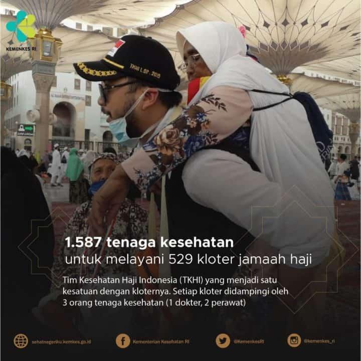 Kesiapan Bidang Kesehatan Menghadapi Puncak Haji 2019