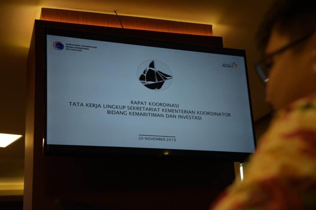 Tingkatkan Efektivitas Kerja Kemenko Marves Gelar Rapat Penataan Kelembagaan