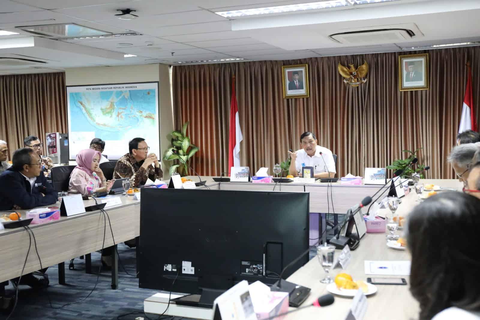 Rakor Pengembangan Lithium Battery di Indonesia
