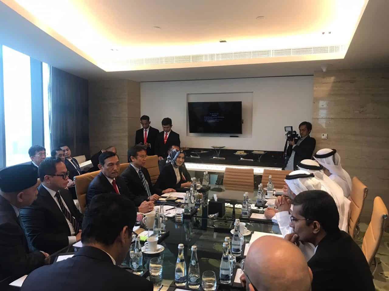 Bertemu Putera Mahkota UEA, Menko Luhut : Ini Adalah Persiapan Awal Kunjungan Presiden Ke Abu Dhabi