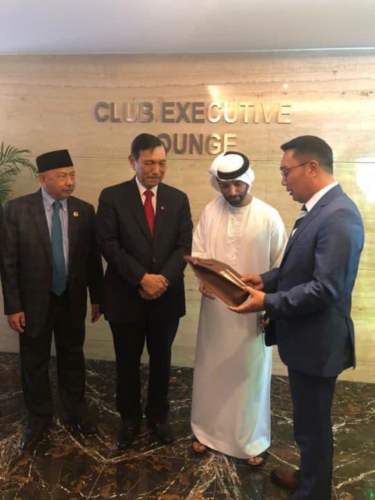 Menko Maritim dan Investasi Meeting Dengan Mr. Khadem Direktur ADIA