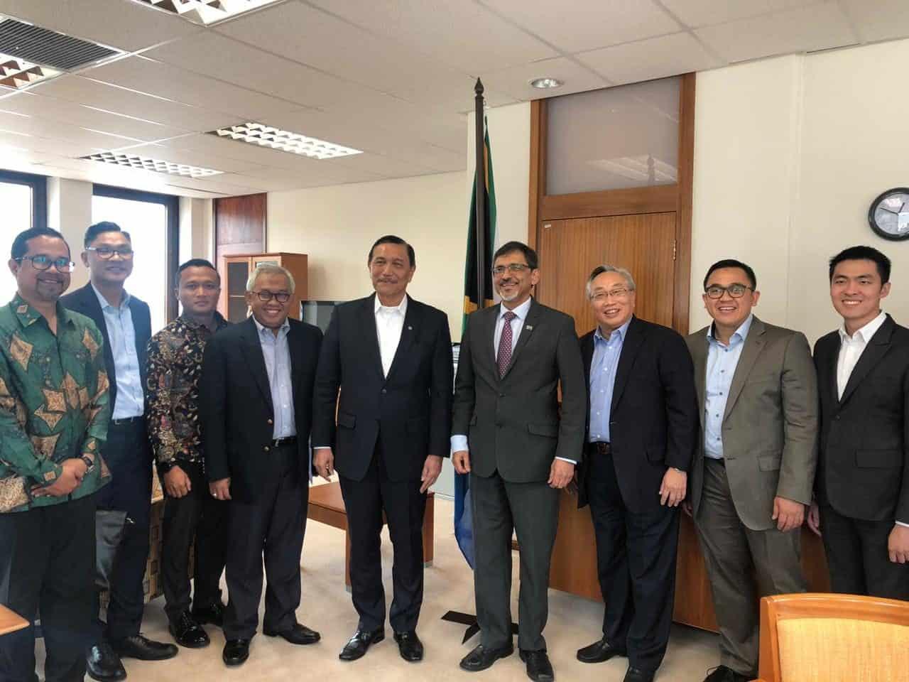 Menko Marves Meeting Bersama Minister Trade of Industry