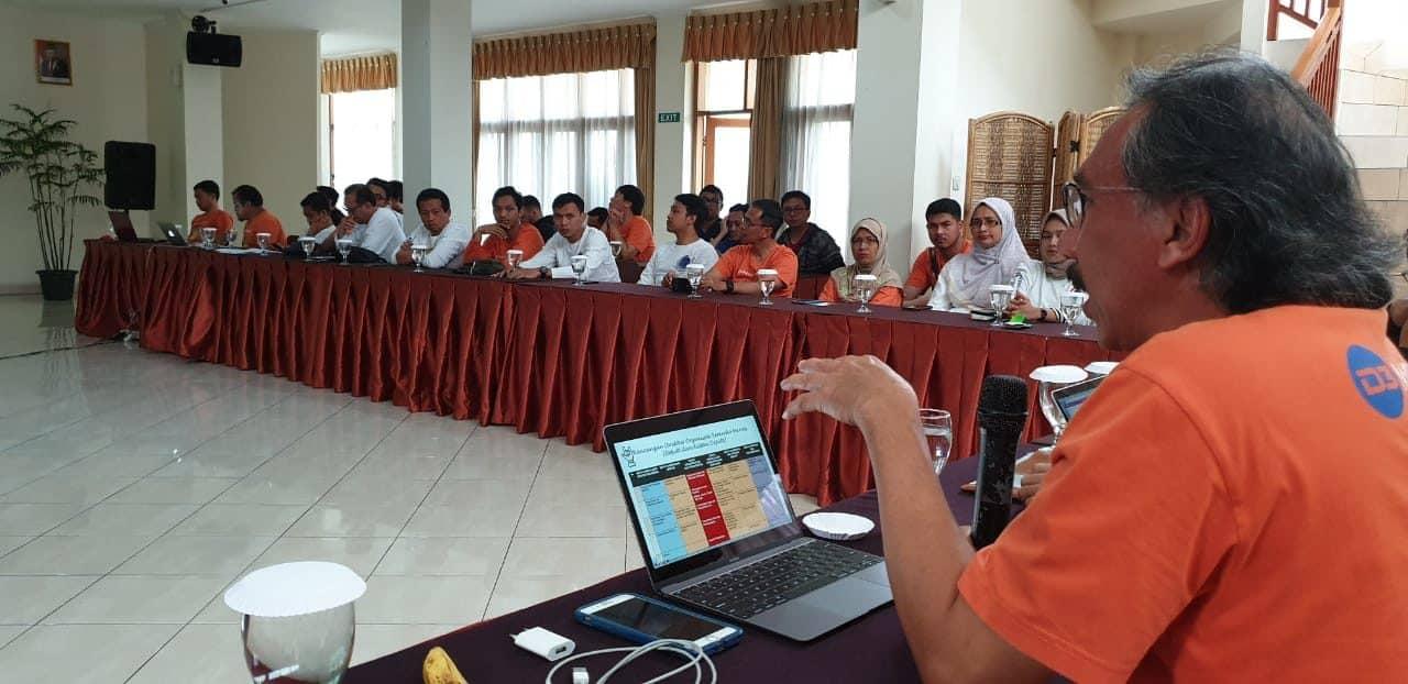 Tingkatkan Kinerja ASN, Deputi Bidang Koordinasi Infrastruktur Gelar Jiwa Korsa