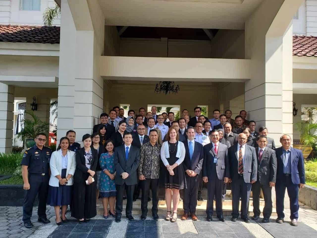 Bersama UNODC, Kemenko Marves Perkuat Penegakan Hukum di Laut