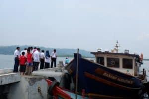 Kuatkan Penyusunan Draft Perpres, Asdep Infrastruktur Pelayaran, Perikanan, dan Pariwisata Tinjau Pelayaran Rakyat di Cilacap
