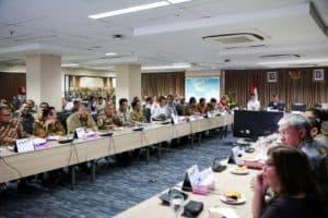 Menko Luhut B. Pandjaitan Pimpin Rakor Proyek Prioritas Nasional Jawa Timur