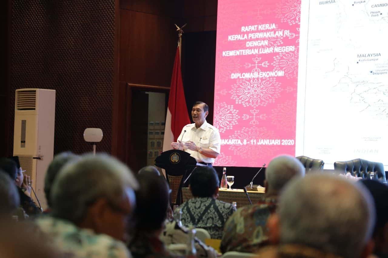 Menko Luhut: Bangun Perkawanan, Untuk Membangun Indonesia