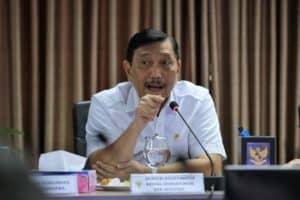 Menko Marves, Luhut B. Pandjaitan, Memimpin Rakor Pembahasan peningkatan, perkembangan, dan upaya mitigasi di bidang kepariwisataan