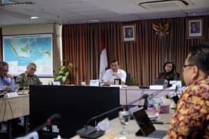 Luhut Binsar Pandjaitan dan Menteri Sri Mulyani memimpin Rakor Lanjutan Percepatan Rencana Pembangunan Ibukota Negara Baru