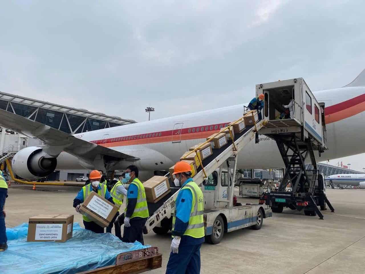 Bantuan 40 Ton Alat Kesehatan untuk Penanganan Covid-19 Tiba di Indonesia Dini Hari Nanti