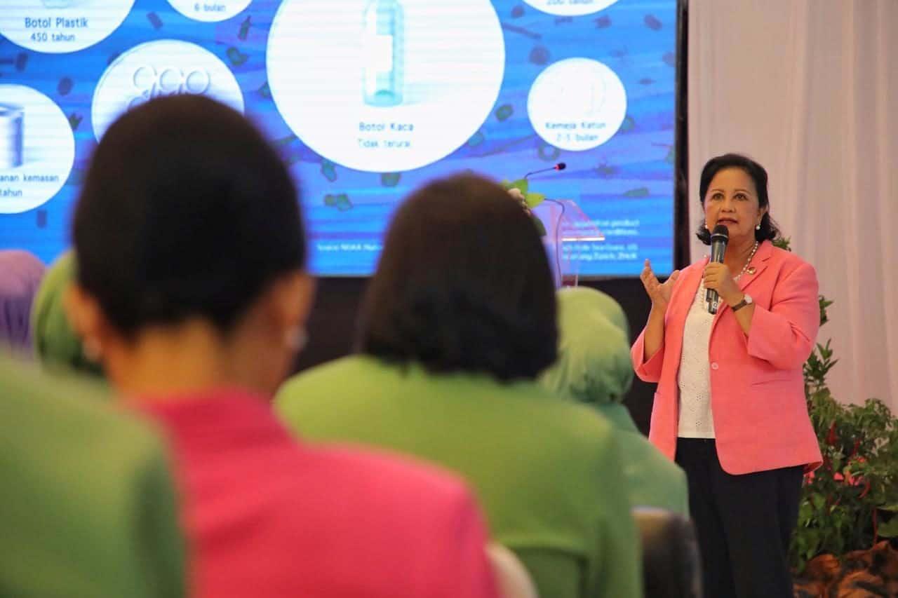 Peranan Ibu Sangat Penting dalam Giatkan Gerakan Indonesia Bersih