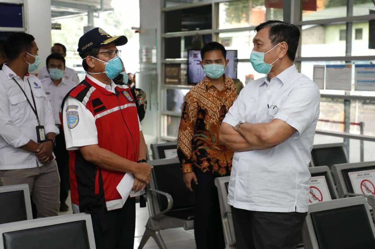 Menko Luhut : Bersama Kita Buat Indonesia Lebih Aman