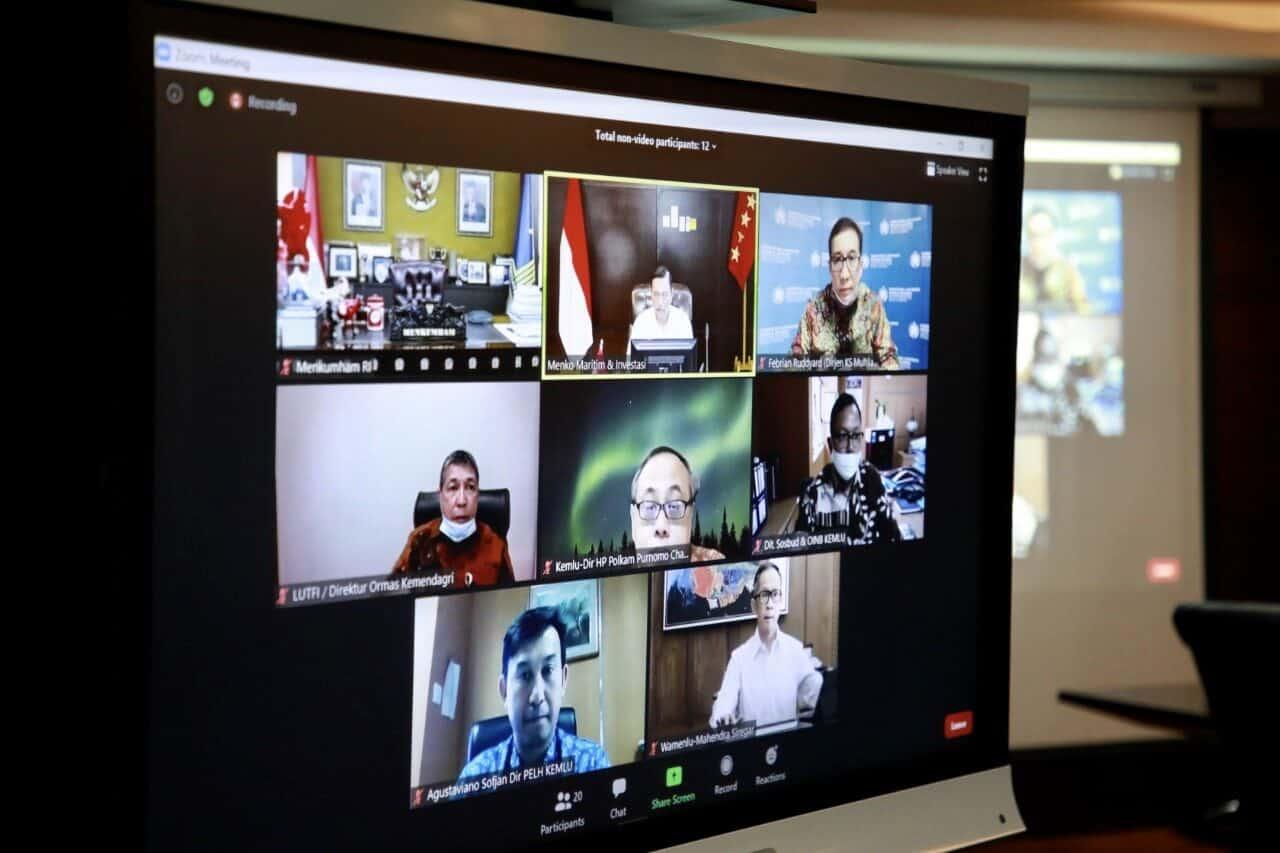 Isu Investigasi Karhutla oleh Singapura, Menko Luhut : Pemerintah Akan Menghormati Aturan Hukum Internasional